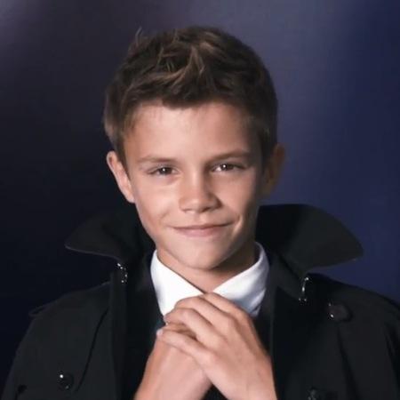Romeo Beckham for Burberry SS13