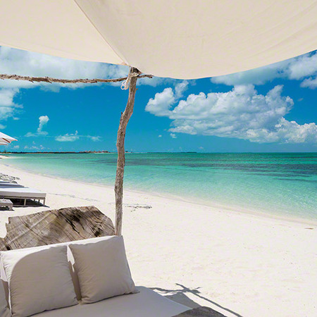 The Sanctuary Estate on private island of Parrot Cay in the Turks and Caicos