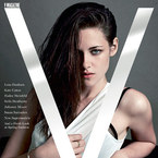 Kristen Stewart goes sultry in Victoria Beckham for V Magazine cover