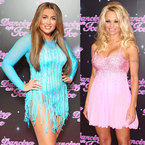 Lauren Goodger & Pamela Anderson debut Dancing On Ice sequins