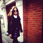 COAT CRUSH: Millie Mackintosh's Zara military style