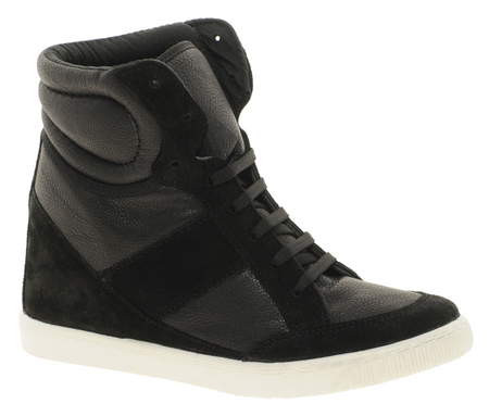 ASOS wedge high-top trainer