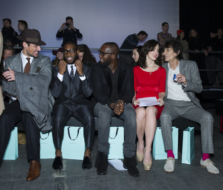 Topman AW13 front row