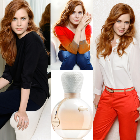 Amy Adams for Eau de Lacoste