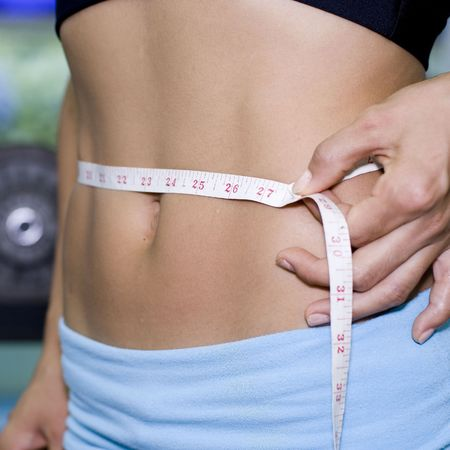 diet tape stomach - weight loss - lose weight - slimming - handbag.com