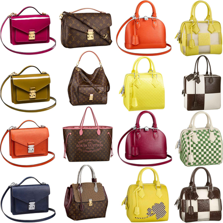 Louis Vuitton Spring/Summer 2013 handbags