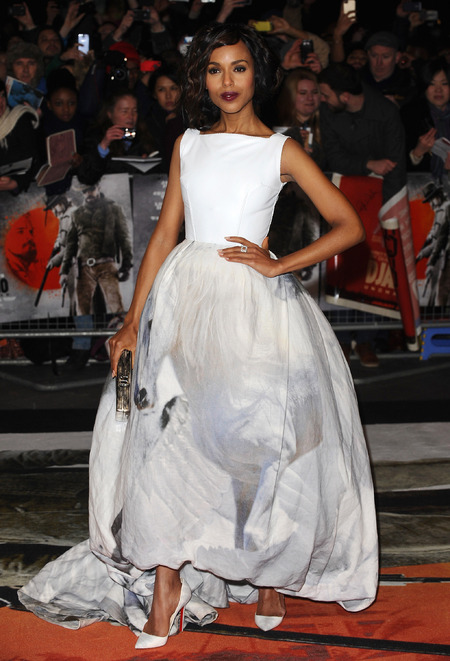 Kerry Washington in Giles Deacon
