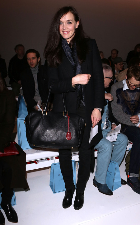 Victoria Pendleton hits day one of men's fashion week in London