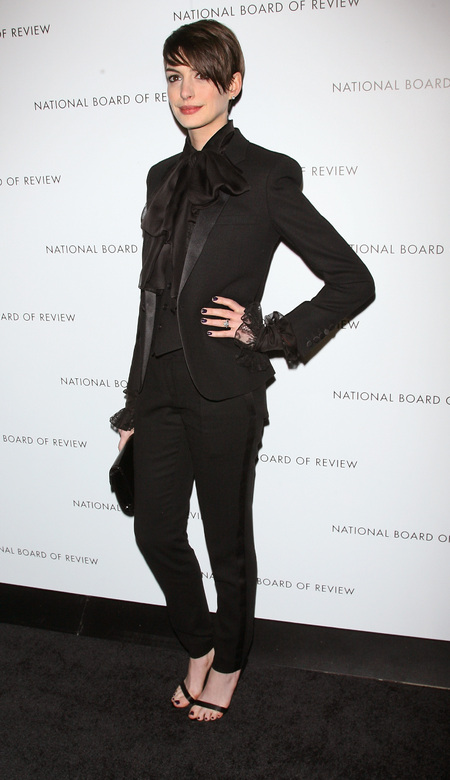 Anne Hathaway at National Board of Review Awards Gala