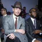 Nick Grimshaw & David Gandy lead the FROW for Topman AW13