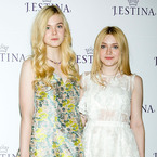 Elle & Dakota Fanning share sisterly love for Miu Miu shoes