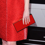 SPOTTED! Emma Stone's Lanvin clutch