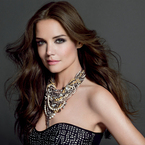 Katie Holmes does smoky eyes for Bobbi Brown