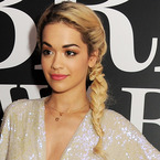 RED CARPET HAIR: Rita Ora's plait at BRIT nominations