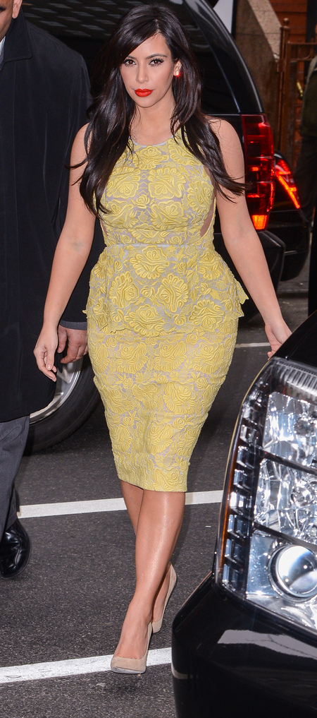 Kim Kardashian wears Stella McCartney