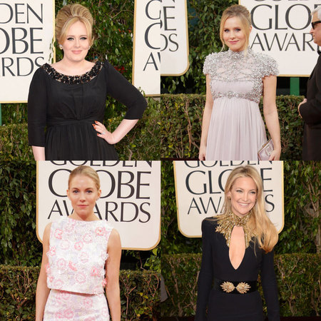 British designers rule at Golden Globe Awards 2013