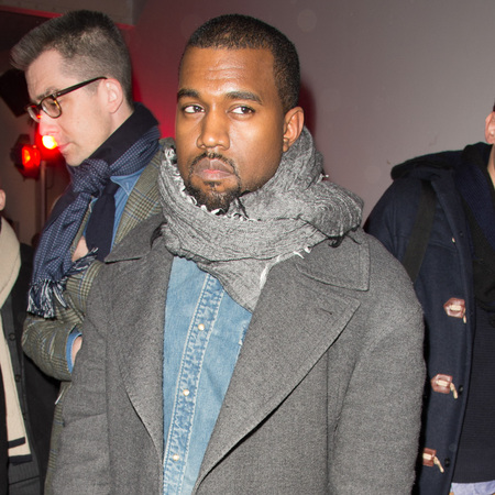 Kanye West hits Paris Fashion Week Mens AW13