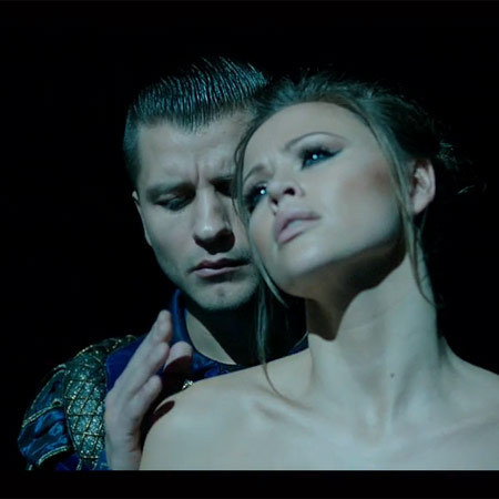Kimberley Walsh and Pasha music video