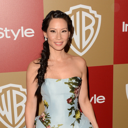 Beyonce Baby 2013 on Lucy Liu  Golden Globes 2013   Golden Globes Wedding Hair Inspiration