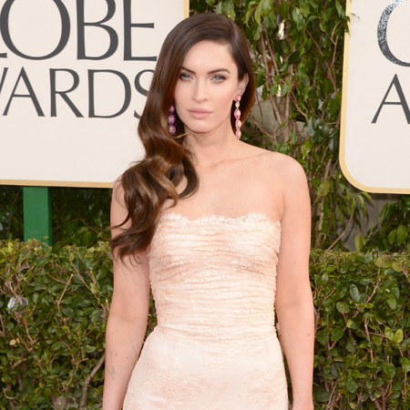 Megan Fox at Golden Globes 2013