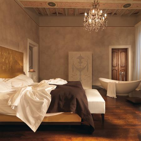 Room 4 at Palazzo Bontadosi, Umbria, Italy