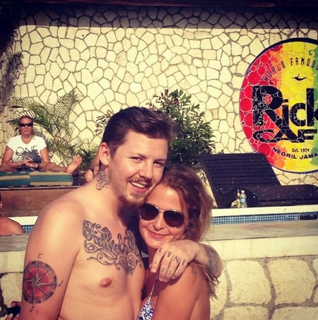 Millie Mackintosh holiday Jamaica
