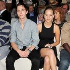 "Nicholas Hoult ""thrilled"" for Jennifer Lawrence"