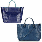 BAG BATTLE: Lanvin V Topshop croc tote