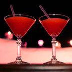 Valentine's Day Cocktail: Red berry Daiquiri