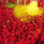 Sights to see: Holi festival, India