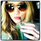 A Life in Food: Rosie Huntington-Whiteley
