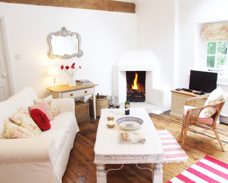 Sussex, holiday lettings for Valentine's Day
