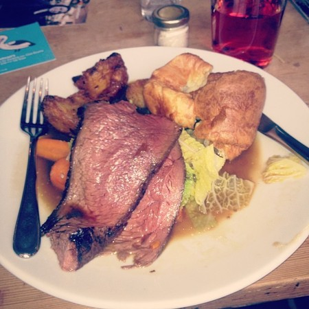 Twitter, Millie Mackintosh roast beef sunday lunch