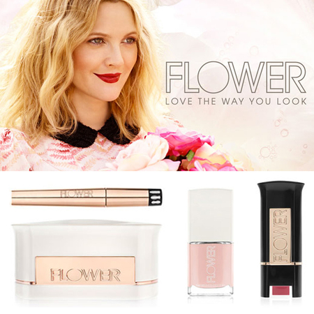 Drew Barrymore launches own make up collection Flower