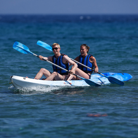 Active pursuits in Kos, Greece