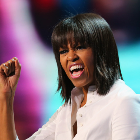 Michelle Obama rocks fringe at Kids Inaugural Concert