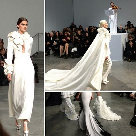 Stephane Rolland at Paris Couture Fashion Week Spring/Summer 2013