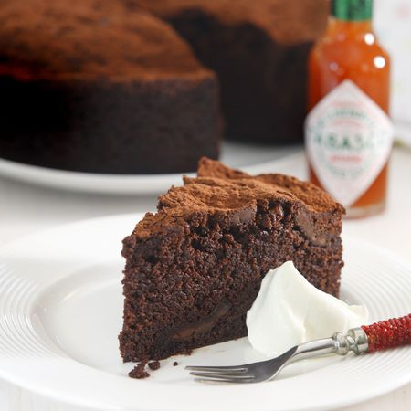 Tobasco Chilli Chocolate cake