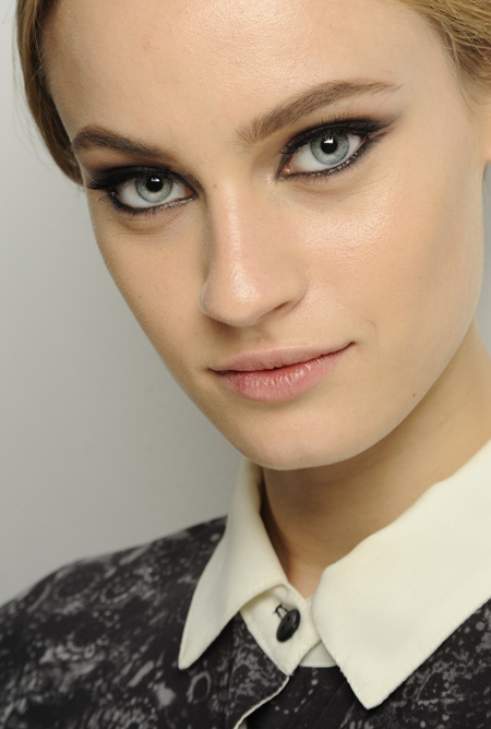 Rock and roll ballerina beauty by MAC's Terry Barber for Stephane Rolland, Paris Couture Fashion Week Spring/Summer 2013