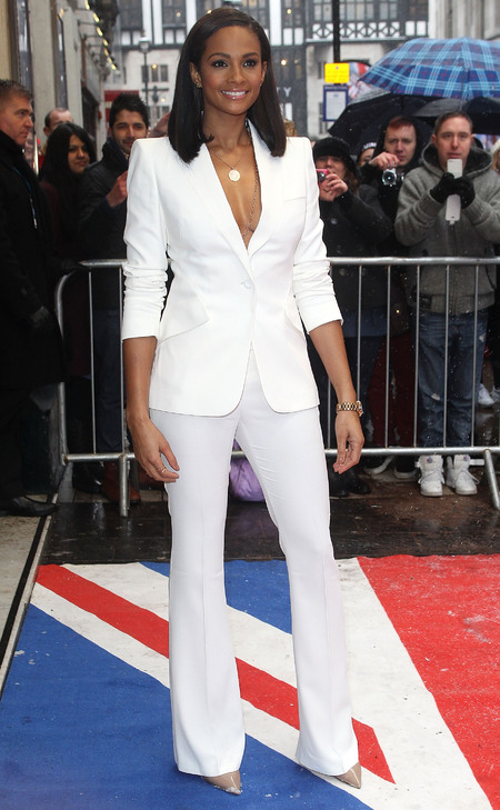 Alesha Dixon in Alexander McQueen at BGT auditions