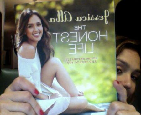 Jessica Alba Honest Life book