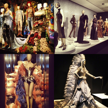 Jean Paul Gaultier exhibition Madrid