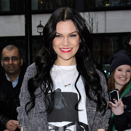 Jessie J's long black waves