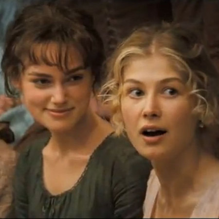 Jane Austen Pride and Prejudice Screen grab