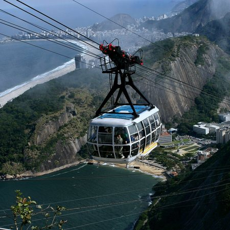 Brazil Sugarloaf mountain