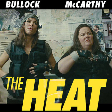 The Heat - Sandra Bullock and Melissa McCarthy