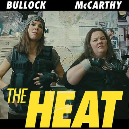 The Heat - Sandra Bullock and Melissa McCarthy