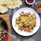 Indian recipe: Turkey Biryani with rice