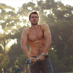 WATCH: Behind-the-scenes with the new Diet Coke hunk