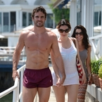 Is Kelly Brook's ex dating Danny Cipriani's ex?